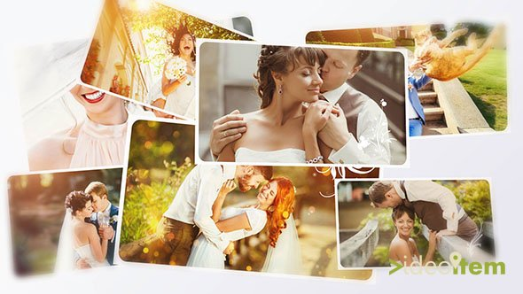 Wedding Photos Slide 3D - Project for After Effects (Videoitem)